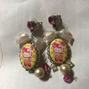 Hello Kitty x Tarina Tarantino earrings
